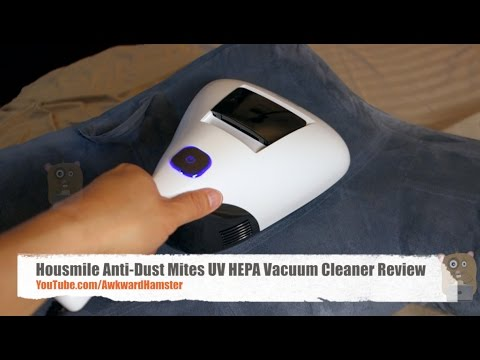 Housmile Anti Dust Mites UV HEPA Vacuum Cleaner Review