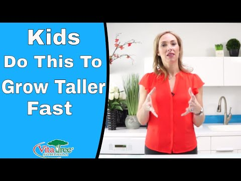 Do This to Grow Taller Fast: Kids : How to Grow Taller - VitaLife Show Episode 240