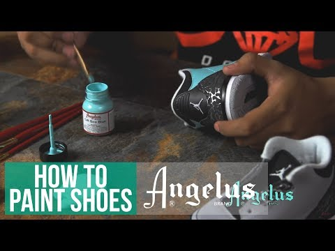 How To Customize Shoes | Angelus Leather Paint