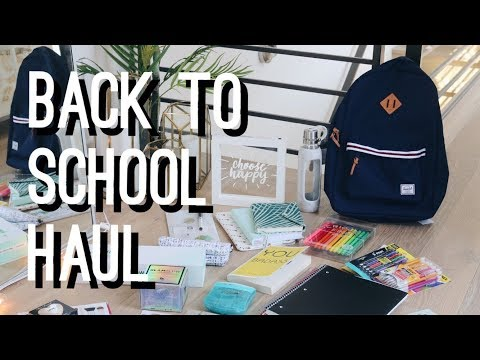 Back to School Supplies Haul + Giveaway! | viviannnv