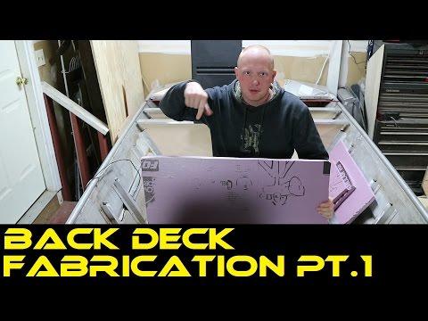 Back Deck Fabrication PT.1 | Jon Boat to Bass Boat Restoration