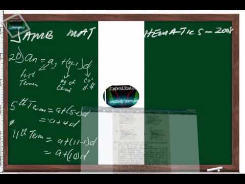 (www.jamb.org.ng) Jamb Maths Past Question And Answer 2008 Qn20