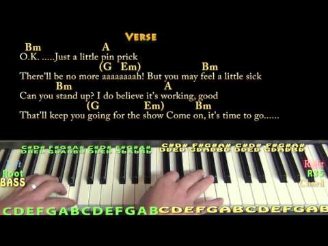 Pink Floyd The Great Gig In The Sky Piano Tutorial Keyboard
