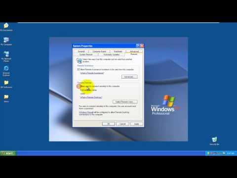 Remote Desktop Connection in LAN