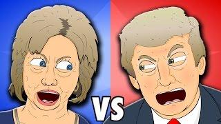 ♪ HILLARY VS TRUMP 2016 Presidential Debate Song