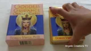 Review Goddess Guidance Cards By Doreen Virtue Phd Reviewed By Renee