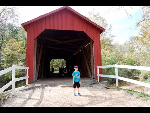 MO State Parks Centennial Passport: #6 Sandy Creek Covered Bridge State Historic Site