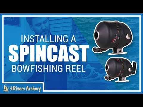 Setting up a Spincast Bowfishing Reel with 3Rivers Archery