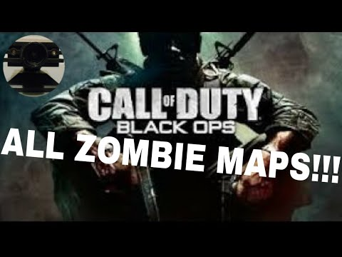 How to unlock all zombies maps in call of duty black ops