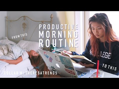 HOW TO START A PRODUCTIVE DAY   Joelle x Theresatrends