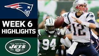 Patriots Vs Jets Nfl Week 6 Game Highlights