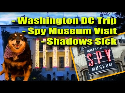 Shadows Sick - Spy Museum Visit - Washington DC Trip
