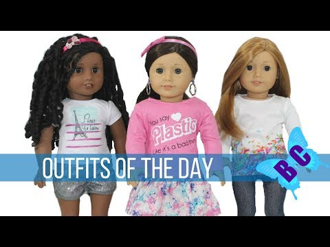 American Girl Outfits of the Day OOTD Fashion Friday Truly Me #67 Buterflycandy