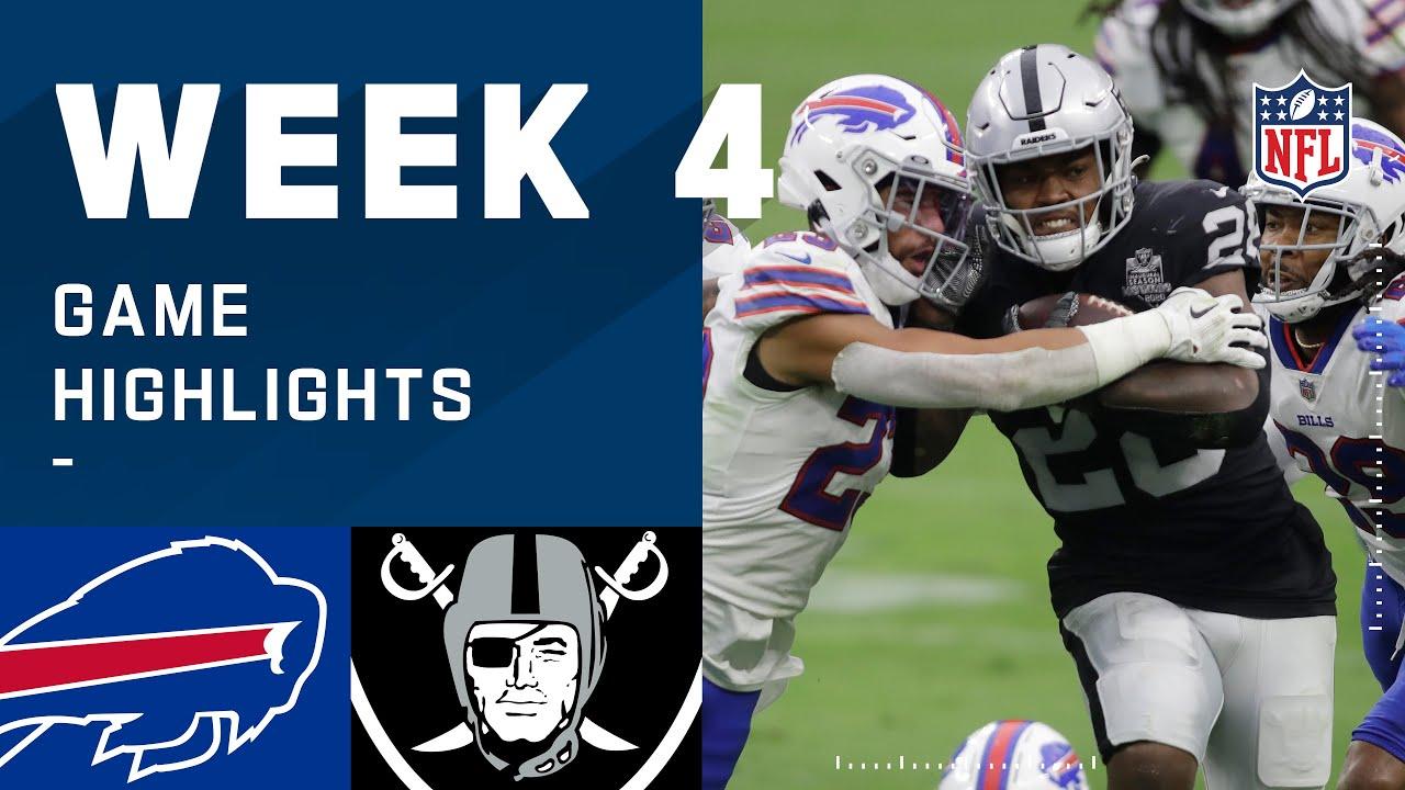 Bills vs. Raiders Week 4 Highlights | NFL 2020