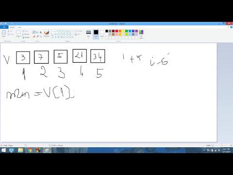 Code Blocks C++ Min si Max in Vectori