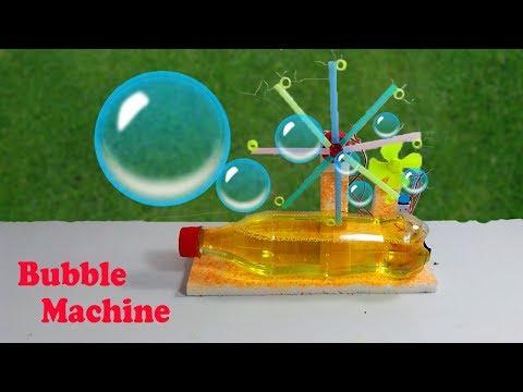 Bubble Machine || How to Make Bubble Machine at Home
