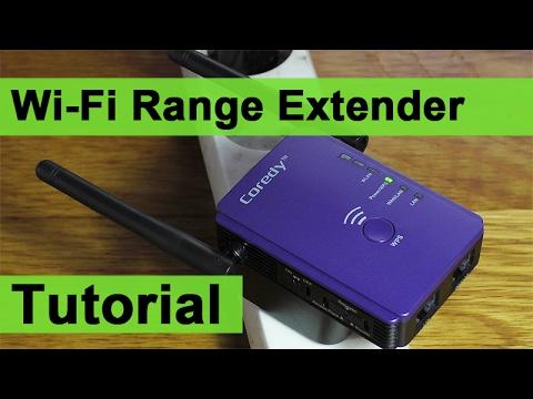 Wi-Fi Range Extender Setup Tutorial - Coredy E300
