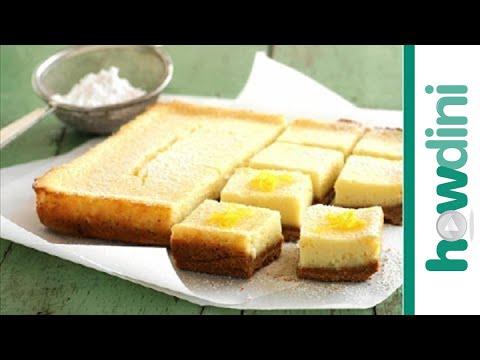 Easy Lemon Bars Recipe: How To Make Lemon Bars