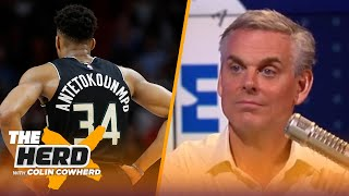 Colin Cowherd attempts to spell the names of notable sports figures | THE HERD