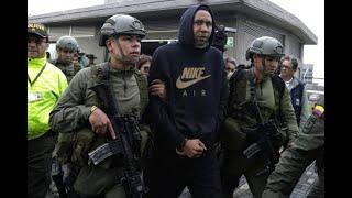 Jhon Viáfara fue trasladado a Bogotá tras ser capturado con fines de extradición | Noticias Caracol