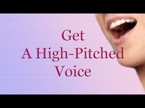 Get A High-Pitched Voice - Feminine Voice (Subliminal)