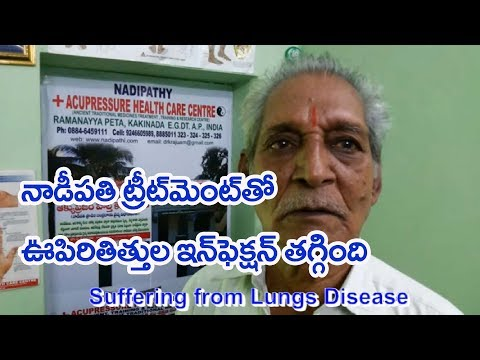 lung infection Cured with Nadipathy Treatment