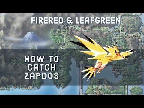 How to Catch Zapdos in Pokemon FireRed and LeafGreen