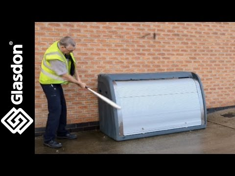 Glasdon UK   Product Testing   Orion™ retail storage unit
