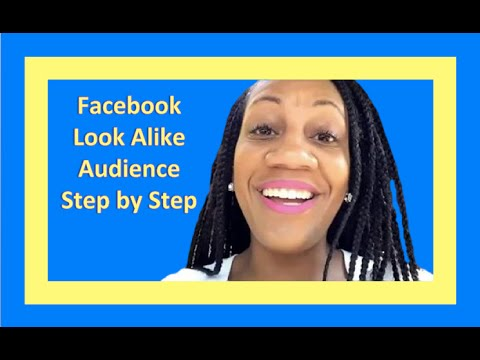 How to Create a Custom Facebook Audience and Lookalike Audience for Targeting