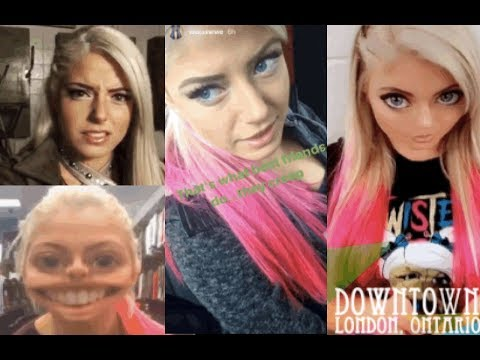 Best of WWE's Alexa Bliss 2017 (Funny and Cute Snapchat/Instagram Moments) PART 1