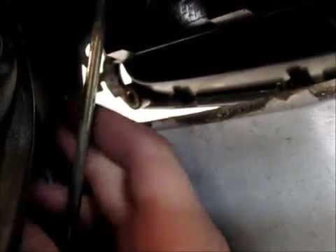 Replacing Door Latch - 1999 Toyota Corolla