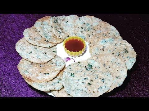 Palak Khakhra Gujarati khakhra how to make khakhra khakhara recipe