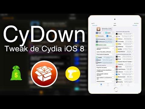 CyDown    iOS 8.4    Descarga e Instala tweaks de pago Gratis    Tweak de Cydia    2015