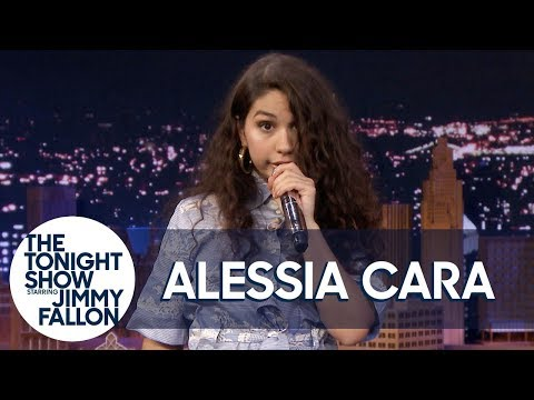 Download MP3 alessia cara sings bad guy w 7 different impressions one song many artists
