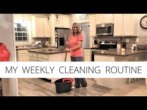MY WEEKLY CLEANING ROUTINE | Clean With Me | House Cleaning Motivation | Speed Cleaning