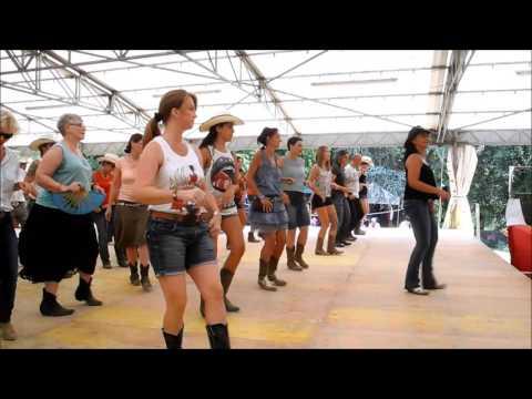 Line Dance French Kiss, Choreographie: Virginie Barjaud