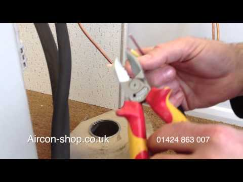 How to wire an air conditioning system