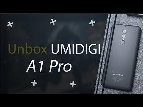 Trên tay UMIDIGI A1 Pro- Smartphone dưới 3 triệu đẹp nhất, camera kép