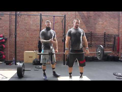 Hang Power Clean with Cam Muir