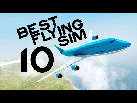 Top 10 Best FLIGHT Simulator Games on Android 2017