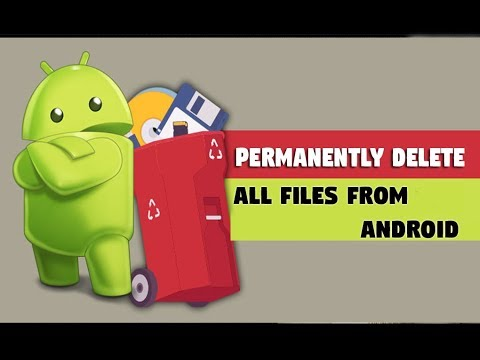 How to Permanently delete photos / videos in android