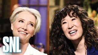 Download SNL Season 44 Highlights: Sandra Oh and Emma Thompson Video
