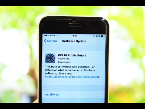 How To Install iOS 10 Public Beta On Any iPHONE