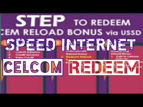 CELCOM REDEEM DATA INTERNET SPEED CELCOM 4G