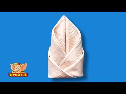Learn the Rosebud Napkin Fold