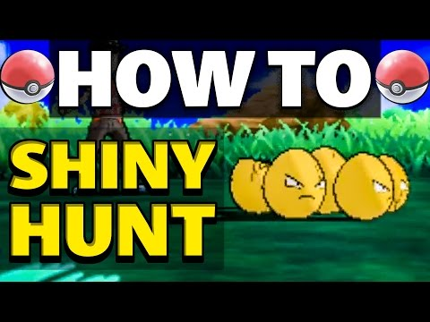 HOW TO Shiny Hunt in Pokemon Sun and Moon | Shiny Guide