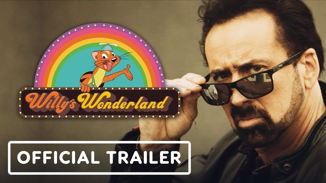 Willy's Wonderland - Official Trailer (2021) Nicolas Cage, Emily Tosta