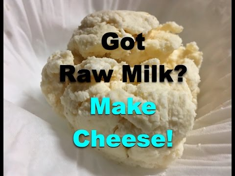 Got Raw Milk? Make Cheese! ~