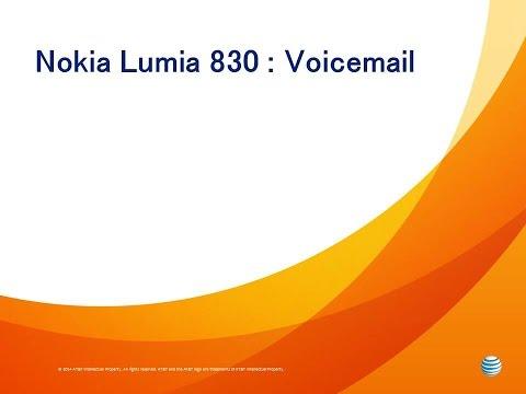 Nokia Lumia 830 : Voicemail