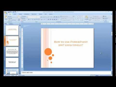 How to convert PowerPoint presentations to video?